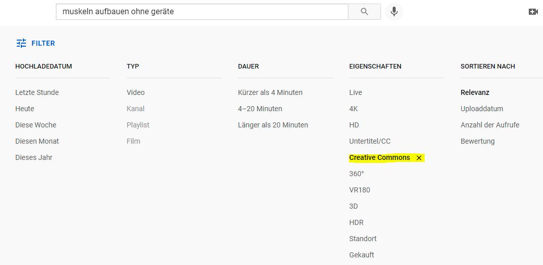 Geld verdienen mit Youtube - Creative Commons