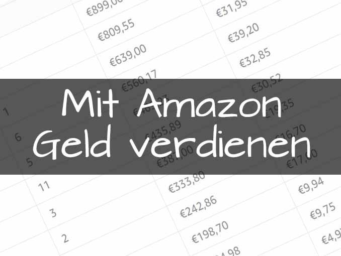 Mit Amazon Geld verdienen