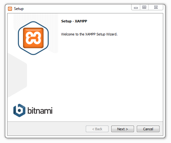 Xampp installieren 01