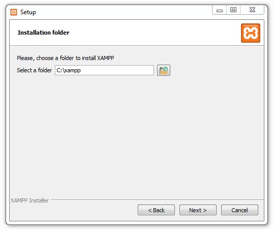 Xampp installieren 03