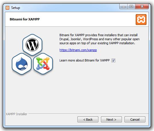 Xampp installieren 04