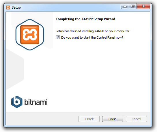 Xampp installieren 07