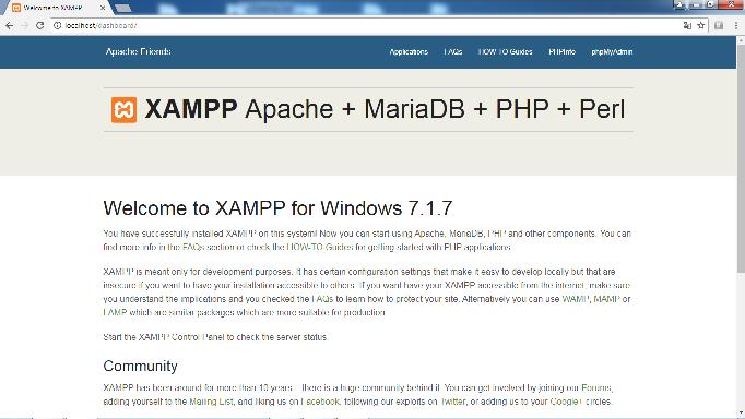Xampp installieren 11